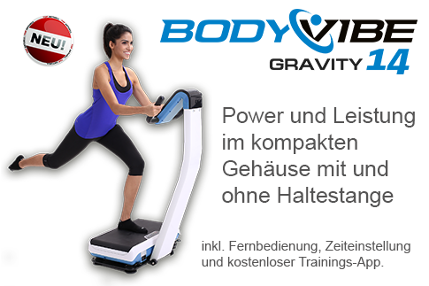 BodyVibe GRAVITY 14 Vibrationstrainer