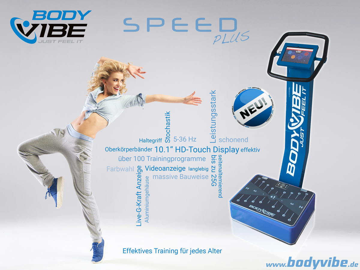 BodyVibe SPEED Plus Vibrationstrainer