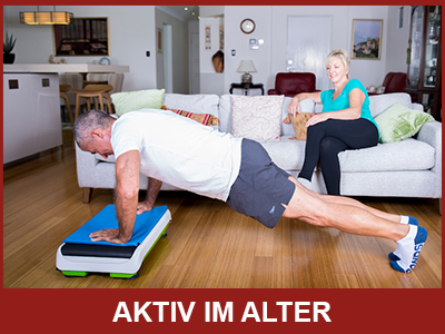 Vibrationstraining - Aktiv im Alter